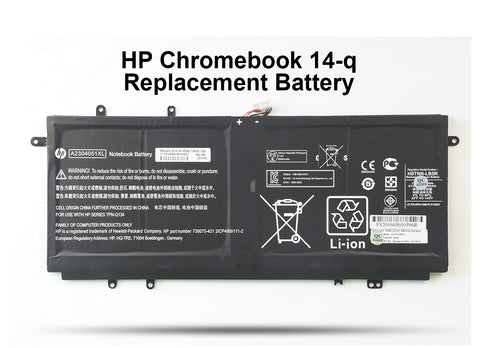 HP Chromebook 14-q Replacement Battery - Screen Surgeons