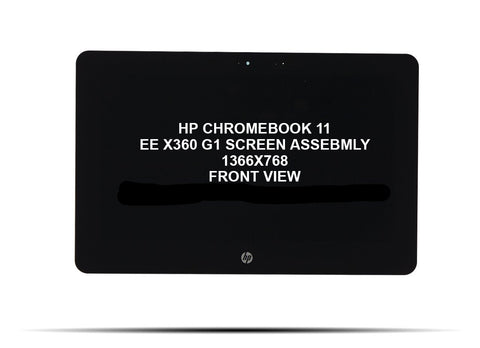 HP Chromebook x360 11 G1 EE Replacement Touch Screen Assembly - Screen Surgeons
