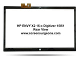HP ENVY x2 15-c101dx 15-c001dx 15-c Replacement Digitizer