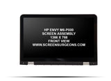 HP Envy M6-P000 Series Replacement Touch Screen Assembly - Screen Surgeons