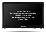 Lenovo Flex 3 15 LCD-Digitizer-Bezel Assembly - Screen Surgeons