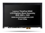 Lenovo ThinkPad W540 LCD-Digitizer-Bezel Assembly