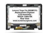 Lenovo Yoga 11e Replacement Digitizer - LCD Screen Assembly FRU: 00HM131 - Screen Surgeons