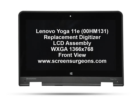 Lenovo Yoga 11e Replacement Digitizer - LCD Screen Assembly FRU: 00HM131
