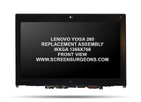 Lenovo Yoga 260 Replacement HD Screen Assembly - Screen Surgeons
