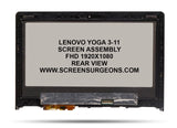 Lenovo Yoga 3-11 Replacement FHD Screen Assembly - Screen Surgeons