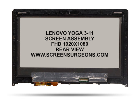 Lenovo Yoga 3-11 Replacement FHD Screen Assembly