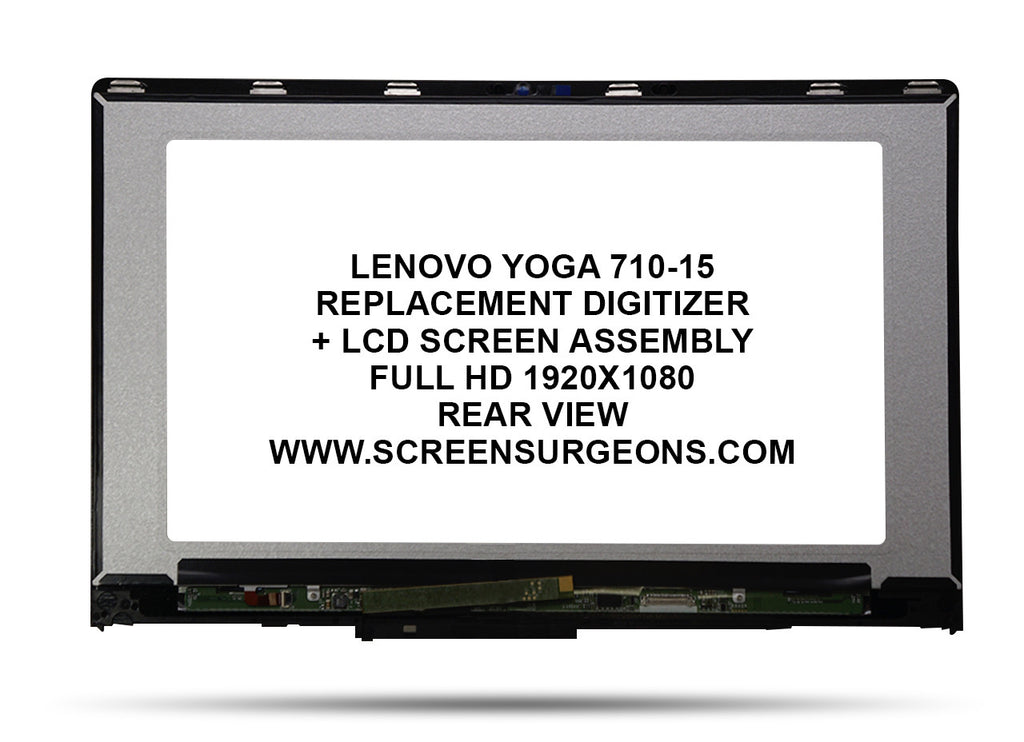 Lenovo Yoga 710-15 Replacement Digitizer - FHD LCD Screen Assembly