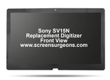 SONY SV15N REPLACEMENT DIGITIZER LCD ASSEMBLY
