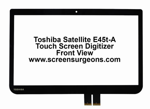 Toshiba Satellite E45t-a Touchscreen Replacement Digitizer - Screen Surgeons