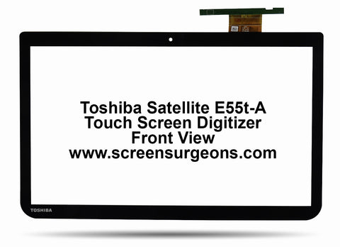 Toshiba Satellite E55t-a Touchscreen Replacement Digitizer - Screen Surgeons