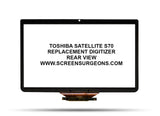 Toshiba Satellite S70 Replacement Digitizer - Screen Surgeons