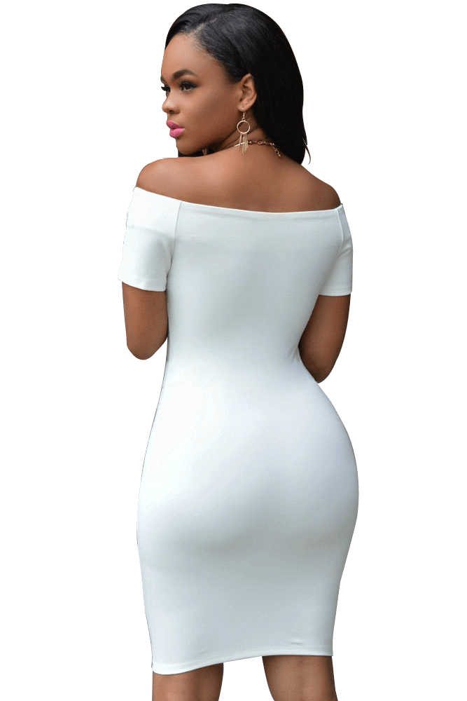 Tonya Off-the-shoulder Dress - Budget Babe Couture