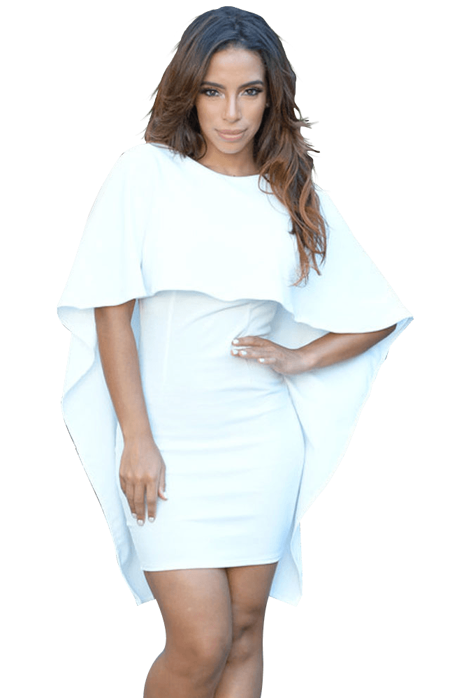 Angela Cape Dress - Budget Babe Couture