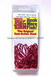 Tru Turn CATFISH HOOK, O'SHAUGHNESSY, LARGE RING EYE, BLOOD RED  733BL