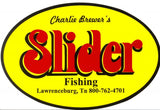 Crappie Slider Grub from Charlie Brewer sku002