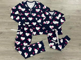 Adult Hugs and Kisses Pajama Set