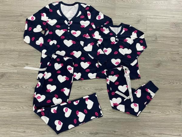Kids Hugs and Kisses Pajama Set