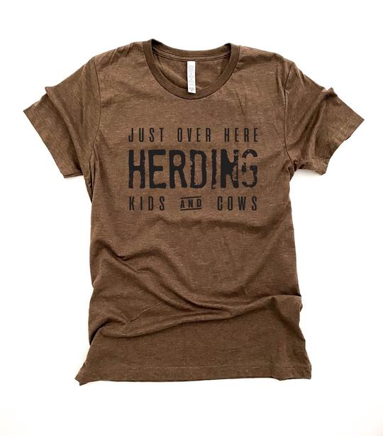 Herding Kids and Cattle - Prairie Chic Boutique