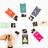 Chocolate Bar Greeting Cards