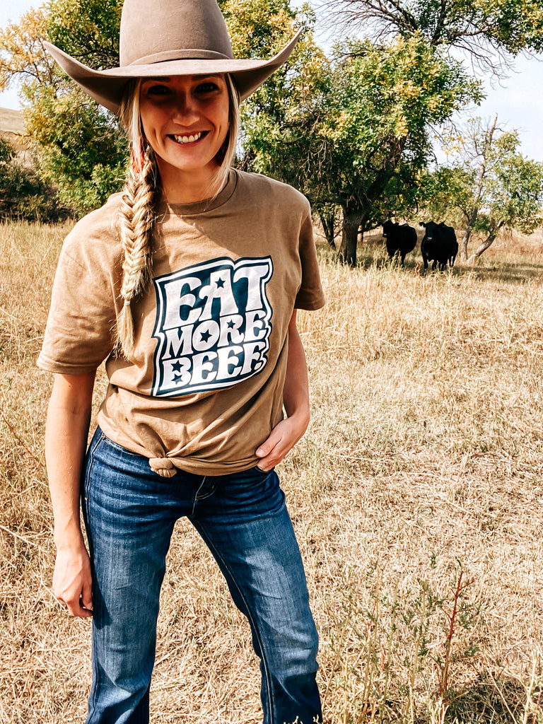Eat More Beef Graphic Tee