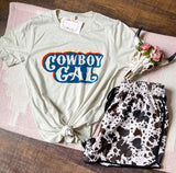 Cowboy Gal Graphic Tee
