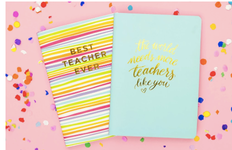Best Teacher Ever Notebook - Prairie Chic Boutique