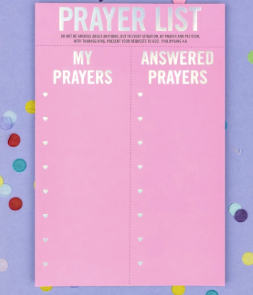 Prayer List Notepad - Prairie Chic Boutique