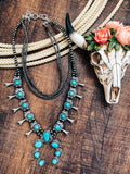 Abilene Squash Blossom Necklace