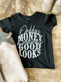 Kids Daddy's Money Graphic Tee - Prairie Chic Boutique