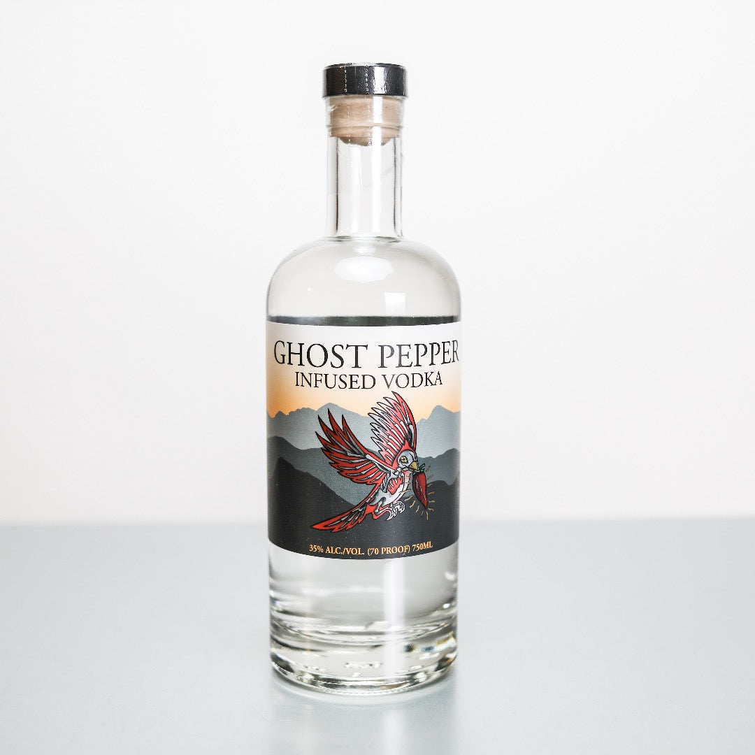 Ghost Pepper Infused Vodka