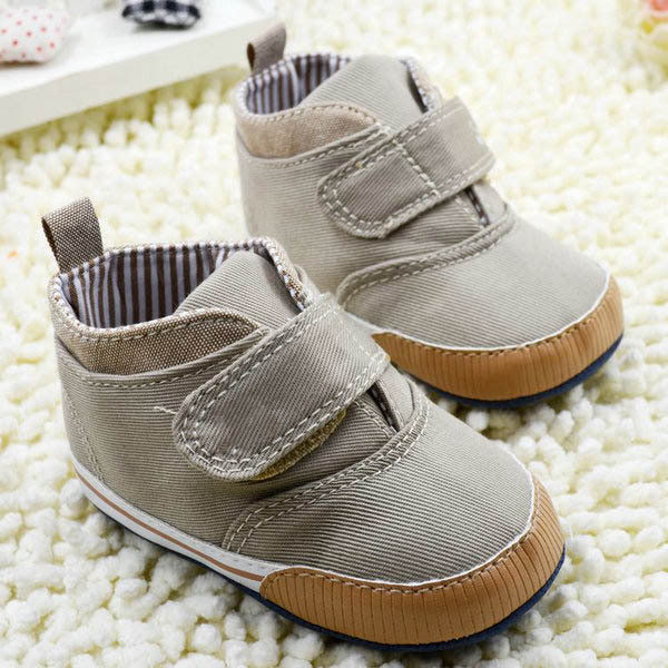 Baby Shoes Branded Newborn Canvas Sneaker