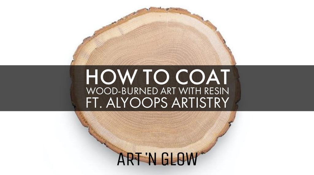 How to Coat Wood-burned Art with Epoxy Resin