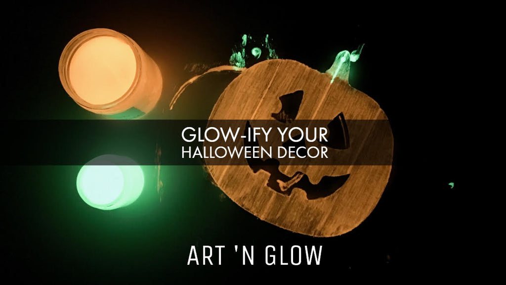 Glow-ify Your Halloween Decor