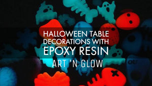 Creating Fun Halloween Table Decorations With Resin Molds