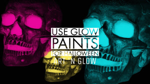How You Can Use Glow Paints For Halloween
