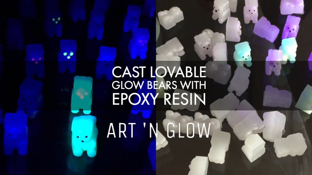 Valentine's Day: How to Cast Lovable Bears with Resin