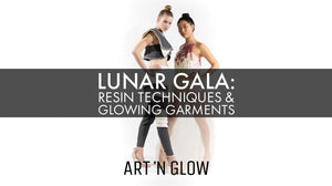 Lunar Gala: Resin Techniques & Garment Processes