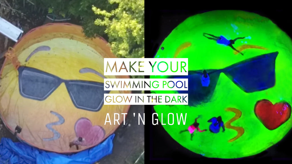 Make Your Swimming Pool Glow In The Dark
