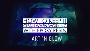 How to Keep a Clean Workspace with Art 'N Glow Epoxy Resin