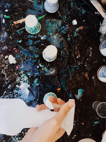 Step by Step Guide: How to Coat Paintings with Resin – Art