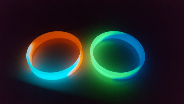 glow in the dark bracelet DIY