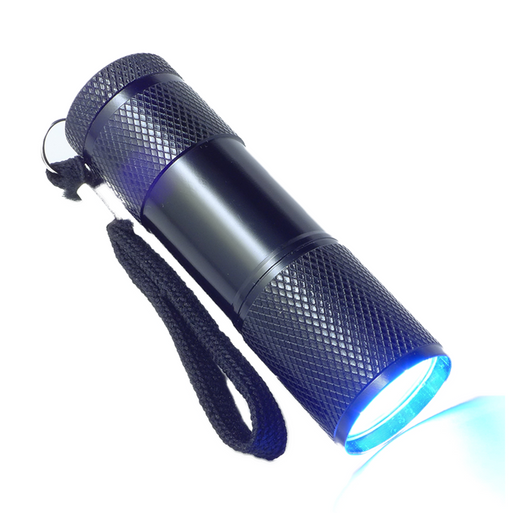 9 LED UV Flashlight