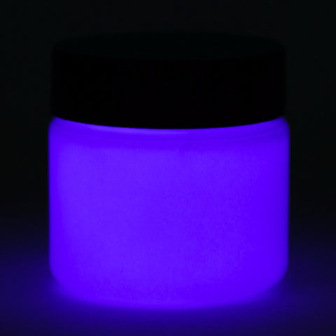 dark blue glow paint