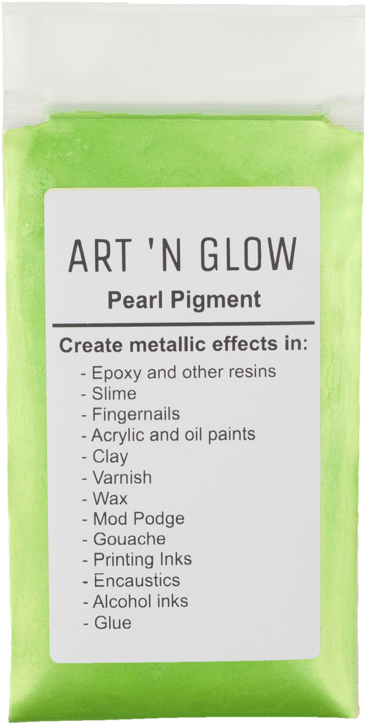 Apple Green Pearl Pigment