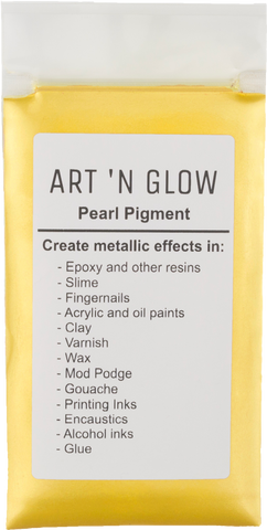 Canary Yellow Pearl Pigment