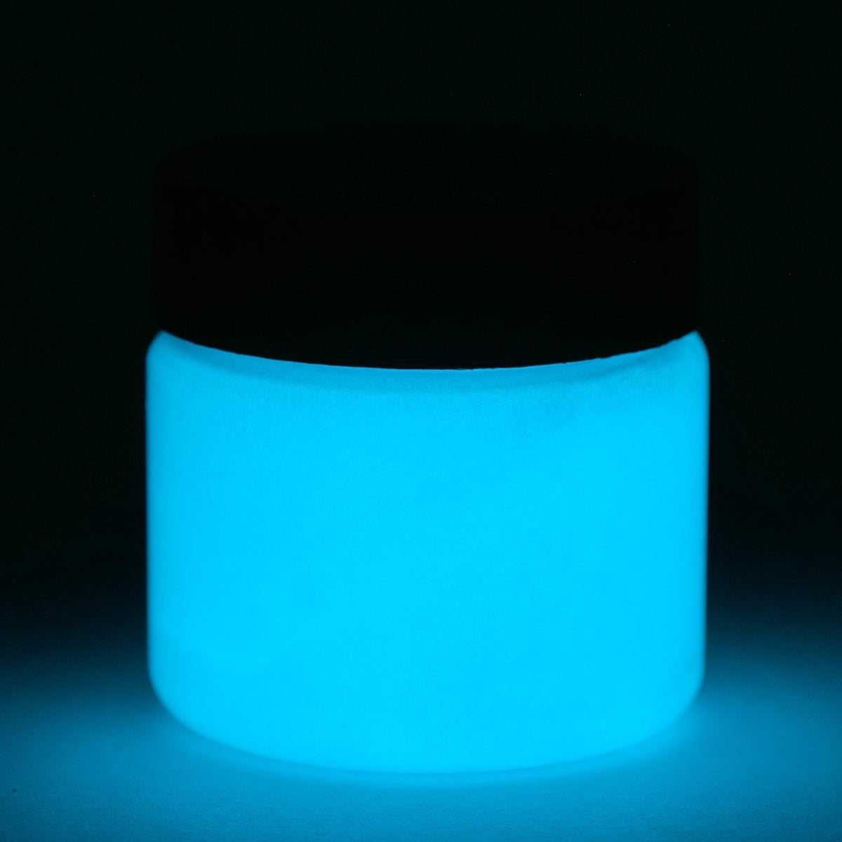 glow in the dark fluorescent blue paint uv and glow art n glow