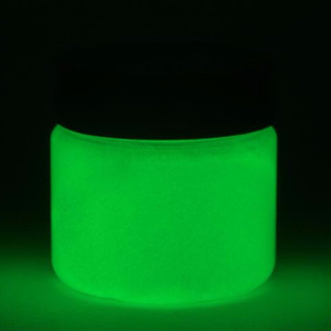 fluorescent green glow paint