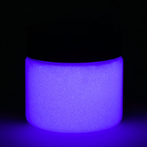 fluorescent purple glow in the dark paint
