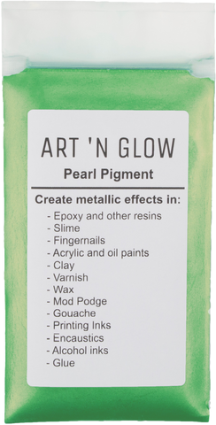 Green Gold Pearl Pigment